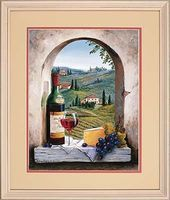 Dimensions Tuscan View Paint By Number Kit #73-91441