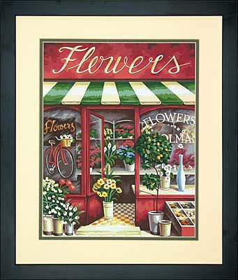 Dimensions The Flower Shop -- Paint By Number Kit -- #73-91442