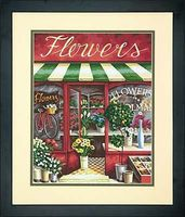 Dimensions The Flower Shop Paint By Number Kit #73-91442