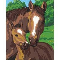 Dimensions Pony & Mother Paint By Number Kit #91119