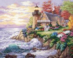 Dimensions Guardian of the Sea Paint By Number Kit #91129