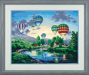 Dimensions Balloon Glow -- Paint By Number Kit -- #91243