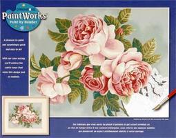 Dimensions Heirloom Roses Paint By Number Kit #91299