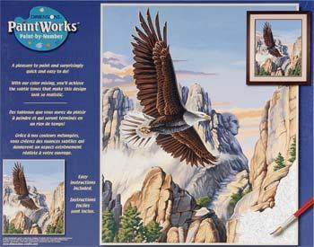 Dimensions Soaring Eagle -- Paint By Number Kit -- #91301