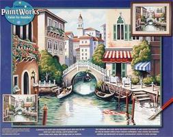 Dimensions Scenic Canal Paint By Number Kit #91303