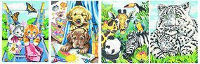 Dimensions Friendly Animals Variety Pack Pencil by Number (9''x12'') Pencil By Number Kit #91337