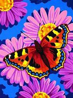 Dimensions Butterfly Blossom Paint By Number Kit #91341
