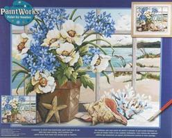 Dimensions Seaside Still Life Paint By Number Kit #91360