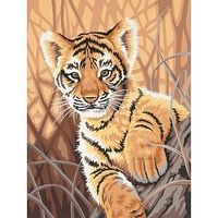 Dimensions Tiger Cub Paint By Number Kit #91420