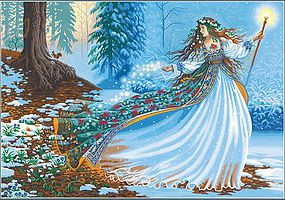Dimensions Woodland Enchantress Paint by Number (20x14)