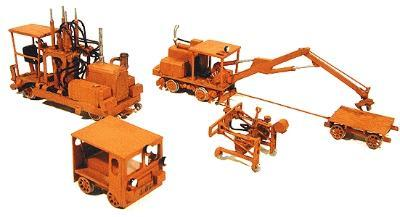 Durango Press Track equipment set - HO-Scale