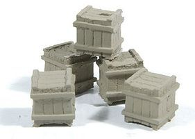 Durango Small Square Crate 5/ - HO-Scale (5)