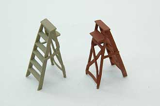 Durango Step Ladder (2) HO Scale Model Railroad Building Accessory #179