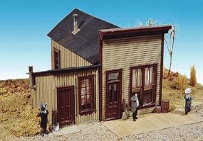 Durango Newspaper office - HO-Scale