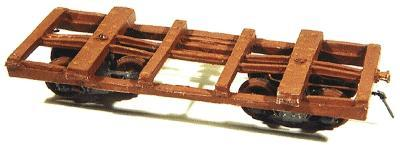 Durango Press Log Car HOn3 NM Lumber - HOn3-Scale