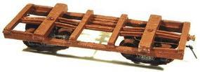 Durango Log Car HOn3 NM Lumber - HOn3-Scale