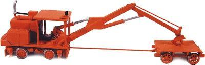 Durango Press Kershaw tie crane kit - HO-Scale