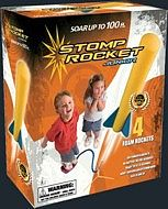 D&L Rockets Junior Stomp Rocket Set (4 rockets, stand, stomp pad)