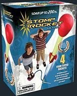 D&L Rockets Ultra Stomp Rocket Set (4 rockets, stand, stomp pad)