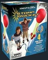 D&L Ultra Stomp Rocket Set (4 rockets, stand, stomp pad)