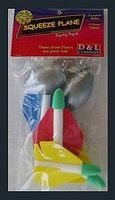 D&L Squeeze Plane Pack (4 planes, 2 squeeze bulbs)