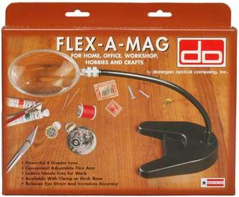 Donegan Optical Company Flex-A-Mag 4 Round Desk Base