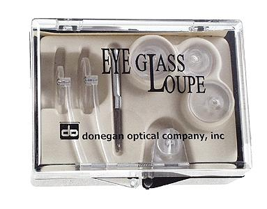 Donegan Optical Company Eyeglass Loupe Dbl 4x10x