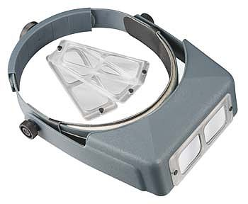 Donegan-Optical OptiVisor AL Magnifier Set Headband Magnifier #al-s1