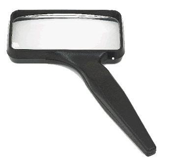 Donegan-Optical 2x4 Rectangular Hand Held Magnifier
