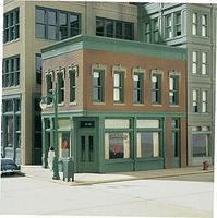 Design-Preservation Carols Corner Cafe Kit (4-1/4 x 2-3/4) HO Scale Model Railroad Building #11300
