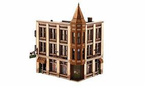 Design-Preservation Corner Department Store Kit HO Scale Model Railroad Building #12800