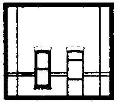 Design-Preservation Street Level Rectangular Entry HO Scale Model Railroad Building Accessory #30131