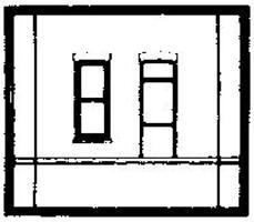 Design-Preservation Dock Level Rectangle Entry HO Scale Model Railroad Building Accessory #30136