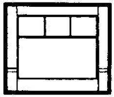 Design-Preservation Street Level 20th Century Window HO Scale Model Railroad Building Accessory #30162