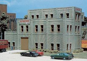 Design-Preservation Rectangular Window Industrial Building Bulk Kit HO Scale Model Railroad Building #36200