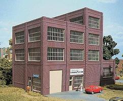 Design-Preservation Steel Sash Industrial Building Kit HO Scale Model Railroad Building #36500