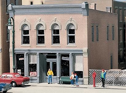 Design-Preservation Chars Soda Shoppe Kit (2-5/8 x 3-1/4) N Scale Model Railroad Building #50400