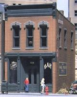Design-Preservation Kelly's Saloon Kit HO Scale Model Railroad Building #woo10100