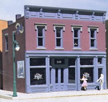 Design-Preservation Roberts Dry Goods Kit HO Scale Model Railroad Building #woo10200