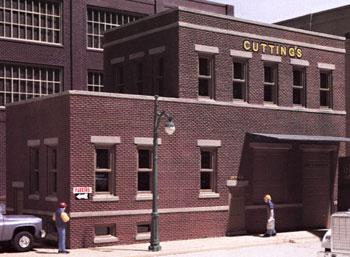 Design-Preservation Cuttings Scissor Co. Kit HO Scale Model Railroad Building #woo10300