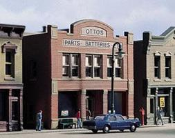 Design-Preservation Ottos Parts Kit N Scale Model Railroad Building #woo50300