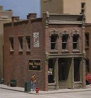 Design-Preservation Crickets Saloon Kit N Scale Model Railroad Building #woo51100