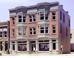 Design-Preservation Reed's Books Kit N Scale Model Railroad Building #woo51500