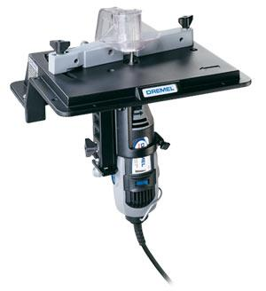 Dremel Mfg. Co. Shaper Table -- Power Tool Attachment -- #231