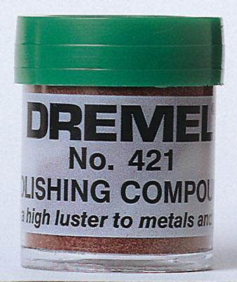 Dremel Mfg. Co. Polishing Compound -- Rotary Power Tool Buffer Polisher -- #421
