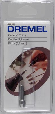 Dremel Chuck Collet 1/8 Rotary Power Tool Collet Mandrel #480