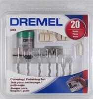 Dremel 20pc Cleaning Polish Set Rotary Power Tool Buffer Polisher #684-01