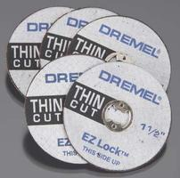 Dremel EZ Lock Thin Reinforced Cutting Wheel Rotary Power Tool Cut Off Wheel #ez409
