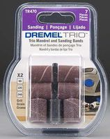 Dremel 60/120/240 Grit Band 1/2 (2) Power Sander Router Grinder Accessory #tr470