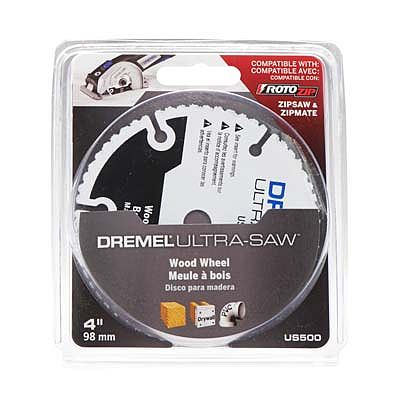 Dremel Mfg. Co. Ultra-saw Wood/Plastic Blade -- Rotary Power Tool Saw Blade -- #us500-01